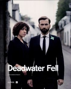 Trailers, clips, images and poster for the four-part British miniseries DEADWATER FELL starring David Tennant and Cush Jumbo. Ugly Americans, Nurse Jackie, Ray Donovan, It Crowd, Alex Pettyfer, Jane The Virgin, True Detective, Penny Dreadful, Magic Mike