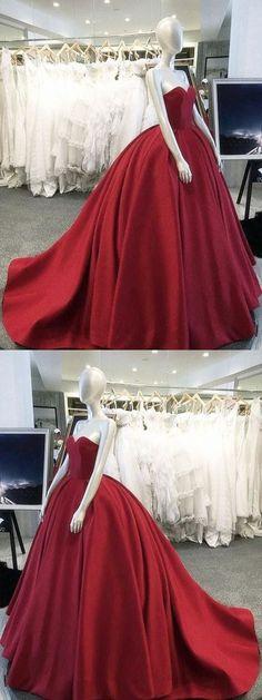 burgundy ball gowns sweetheart bodice corset satin wedding dresses for women