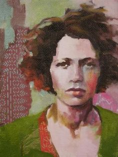"""Daily Paintworks - """"Windblown"""" - Original Fine Art for Sale - © Katie Wilson"""