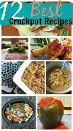 Crockpot Recipe Round Up - 12 Easy & Delicious Recipes   SavingSaidSimply.com