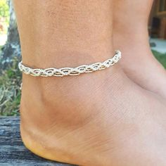 etsy colorful anklet anklets pin boho for gift her on customankletsbylori by birthday