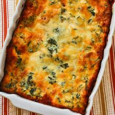 Recipe for Vegetarian Lasagna with Kale and Mushroom-Tomato Sauce; totally delicious version of lasagna with the nutritional boost of kale.  [from Kalyn's Kitchen]