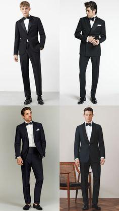 Men's Black Tie/Dinner Jacket/Tuxedo Summer Wedding Guest Outfit Inspiration