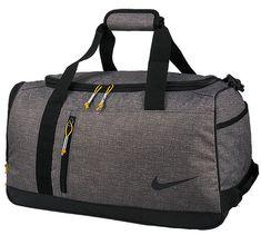c4723b901f3d NIKE Duffle Bag Boston Medium Sports Gray Golf Gym Football Tennis  BA5744-036  Nike