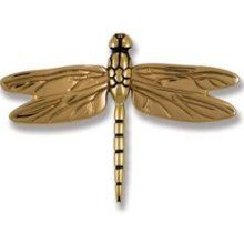 Michael Healy Designs MH-1011 Dragonfly Door Knocker - BRASS/BRONZE