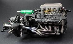 Modelarstwo z pasją Lotus F1, Car Engine, Tamiya, Scale Models, Race Cars, Ferrari, Monster Trucks, Engineering, Ford