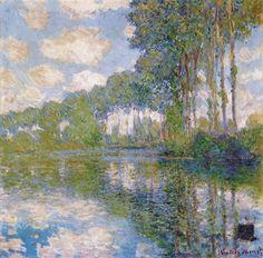 Poplars on the Epte Claude Monet Check more at http://artunframed.com/Gallery/shop/poplars-on-the-epte/