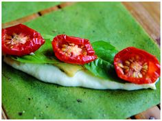 Matthew Kenney's Raw Express - Basil Black Pepper Wrappers