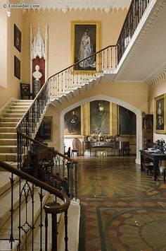 Prideaux Place -  Cornish stately home dating from 1588 with many original features. Prideaux Place is situated above the picturesque fishing village of Padstow and benefits from fabulous views across the deer park to the tidal Camel Estuary beyond.