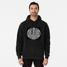 Flower of Life Yin Yang Pullover Hoodie Heavyweight 9oz preshrunk cotton rich fleece made from 80% Cotton, 20% Polyester Front pouch pocket, matching drawstring and rib cuffs Ethically sourced following the World Responsible Apparel Practices Standards Note: If you like your hoodies baggy go 2 sizes up Flower Of Life, Yin Yang, Cotton Tote Bags, Unisex, Hoodies, Cuffs, Pouch, Stuff To Buy, Note