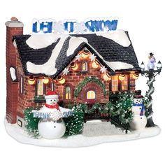 Department 56 - Snow Village - The Snowman House | Department 56 Corner