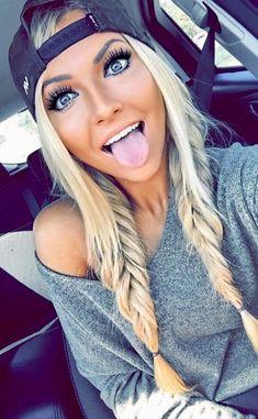 Her hair is cute!