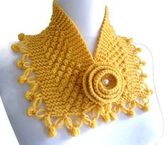 mustard neckwarmers, autumn, wool, hand-knitted,fashion,gift,Christmas