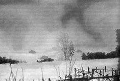 .S. 6e Division blindée réservoirs se déplaçant près de Wardin (Belgique), janvier 1945