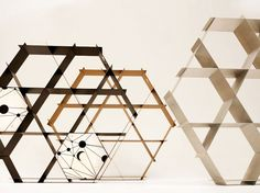 Sustainable Ruche Shelves Harness Beehive Aesthetics and Geometry | Inhabitat - Sustainable Design Innovation, Eco Architecture, Green Building