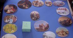 Πήραμε την ιδέα από το περιοδικό Σύγχρονο Νηπιαγωγείο (Μάρτιος-Απρίλιος 2012) . Μιλήσαμε με τα παιδιά για τα γεγονότα της Ελληνικής επανάστα... Decorative Plates, March, Personalized Items, Education, School, Onderwijs, Learning, Mac