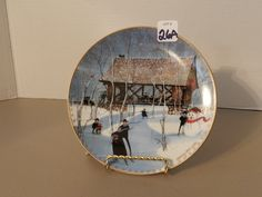 Plate,Collector,P. Buckley Moss