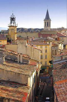 Carpentras - Vaucluse dept. - It stands on of the banks of the Auzon river. Provence-Alpes-Côte d'Azur region, France