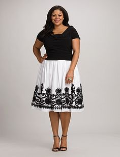 Plus Size Ruched Embellished Dress - Dress Barn