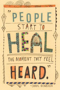 Please make sure you listen to people.. Listen to ur loved ones.. It's the best thing you can do for anyone.. LISTEN