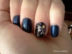 Starry night, inspired by Van Gogh's painting