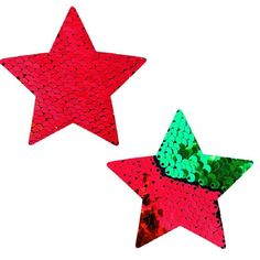 Neva Nude Pasty Stars Sequins Red To Green Green Christmas, Xmas, Christmas Tree, Intimate Ideas, Jessica Rabbit, Silent Night, Betty Boop, Red Green, Reindeer