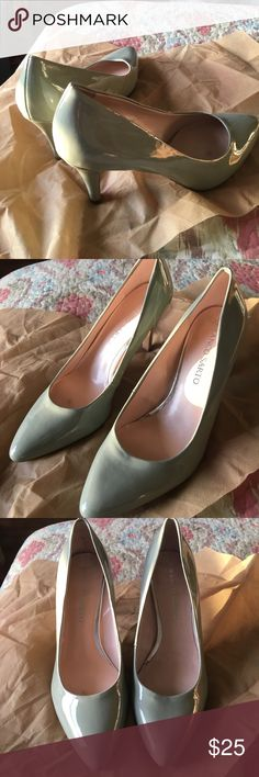 """FRANCO SARTO PATENT MINT GREEN PUMPS SZ 8 BRAND NEW CLASSIC PATENT LEATHER HEELS SZ 8M 3.3"""" HIGH GREAT DEAL FOR SPRING. Franco Sarto Shoes Heels"""