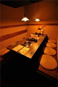 Okayama 岡山 おかやま Restaurant 焼肉 玉龍 個室感覚で居心地良し