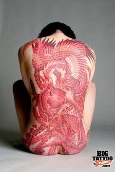 Irezumi Tattoos, Yakuza Style Tattoo, Tribal Tattoos, Red Ink Tattoos, Asian Tattoos, Head Tattoos, Body Tattoos, Girl Tattoos, Home Tattoo