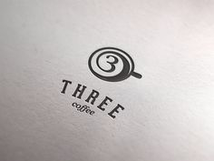 Usually when people think of coffee, most of them come up with an image of white coffe cup or coffee bean. This logo, however, shows the top of a coffee cup, and cleverly connects their brand and the logo with a shape of '3'.