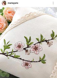 Cushion Embroidery, Embroidery Hoop Art, Cross Stitch Embroidery, Embroidery Patterns, Monogram Cross Stitch, Cross Stitch Heart, Cross Stitch Flowers, Modern Cross Stitch Patterns, Cross Stitch Designs