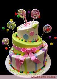 #Lollipop Theme Cake-kids cake ideas
