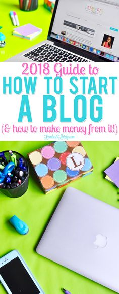 Check out this easy, step by step tutorial on how to start a WordPress blog in 2018, including how to make money from your blog and favorite plugins/hosting for Wordpress beginners.  This is such great inspiration from a profitable blog on how to start your own blogging business! (mommy, lifestyle bloggers)
