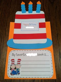 dr seuss kindergaten writing prompt - Google Search