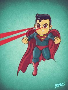 pequeño superman ;)