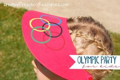 DIY Olympic crafts and games.