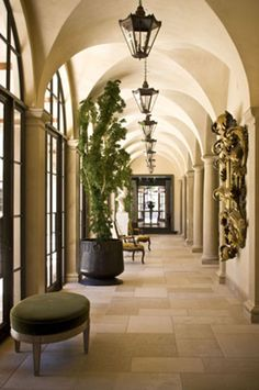 exciting dc ranch residence hallway interior design idea scottsdale az | Grand Entry | Luxury homes interior, House design, Hallway ...