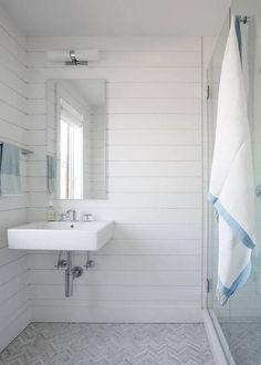 Stephanie Michaan Of The Interior Hamptons House White Bathroom
