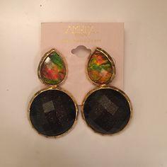 Amritha Singh earrings Fun party earrings by Amrita Singh Amrita Singh Jewelry Earrings
