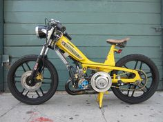 Puch Moped, Moped Bike, Scooter 50cc, Bmx, Custom Moped, Custom Bikes, Vintage Moped, Small Motorcycles, Pit Bike