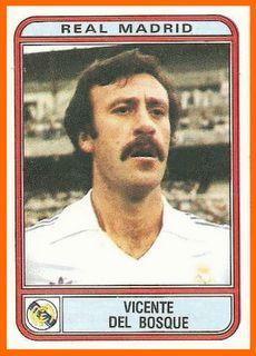 Vicente del Bosque, Spanish footballer