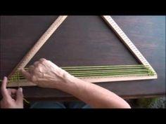 Telar triangular: técnica básica (primera parte)