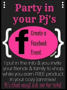 I can do Facebook parties too!!! Much more convenient for you guys and we can play games along the party too!!! Let me know if you're interested!!!