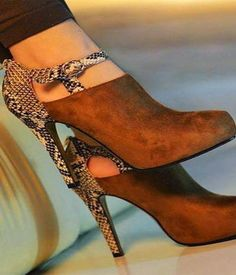 Amazing Heeled Brown Boots for Womens 2015