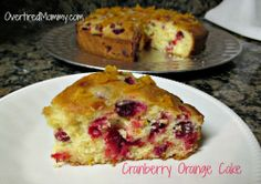 Cranberry Orange Cake with #STAROliveOil #shop