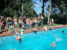 The Squirrel Dive Contest got a little nuts! http://www.coloradoacademysummer.org/
