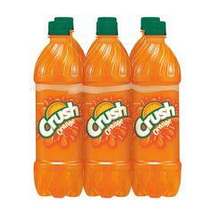 Crush Orange Soda - L Bottles Best Soda, Acacia Gum, Soda Drink, Orange Soda, 6 Pack, Beverage Packaging, Orange Crush, Natural Flavors, Hot Sauce Bottles