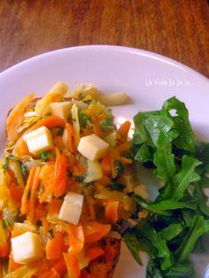 La Vida lalala...: Te paso el dato: almuerzo en 15 minutos!