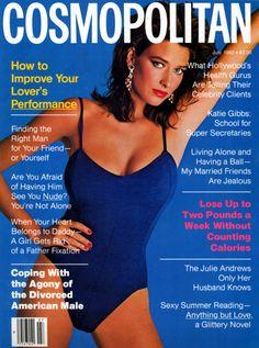 Cosmopolitan magazine, JULY 1982 Model: Rosemary McGrotha Photographer: Francesco Scavullo