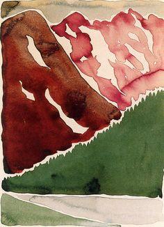Georgia O'Keeffe (1887 -1986)